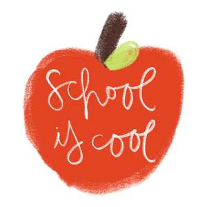 school is cool (apple)