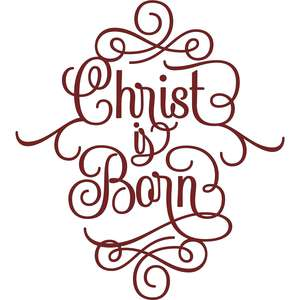 christ is born script