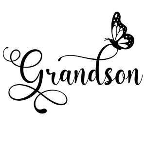 grandson butterfly word
