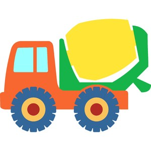 concrete mixer truck toy