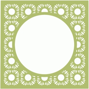 flower page frame