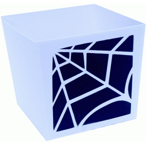 spiderweb candy box