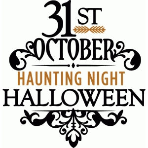 31st october halloween - phrase
