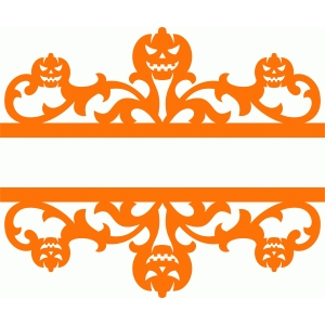 split pumpkin damask