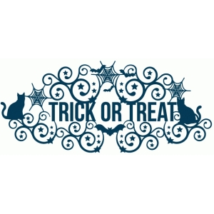 trick or treat fancy title