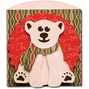 polar bear short envelope bag