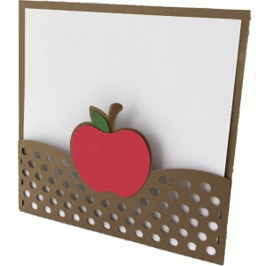 apple square card