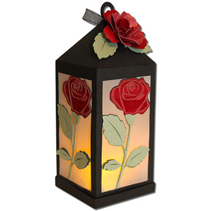 rose lantern (flameless)