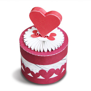 circle box with hearts
