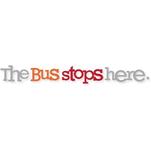 'the bus stops here'