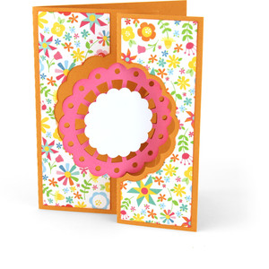 flip flap card doily