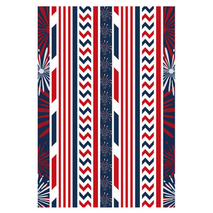 4th of july washi tape stickers planning 3
