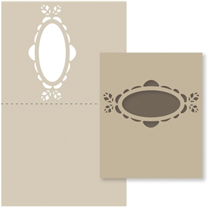 leaf label window card