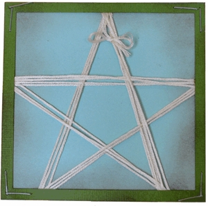 star threading card