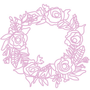 flower wreath large