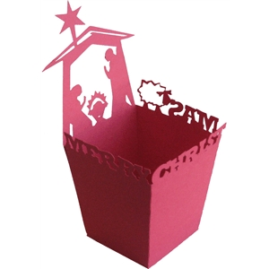 nativity candy box