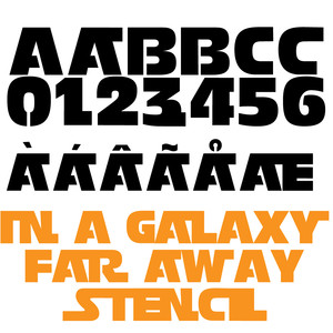pn in a galaxy far away stencil