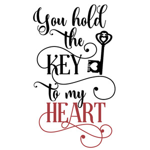 hold key to heart
