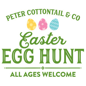 peter cottontail easter egg hunt
