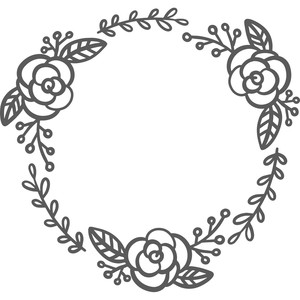 flower foliage wreath