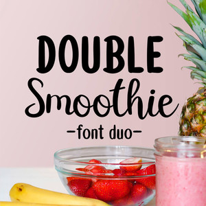 double smoothie