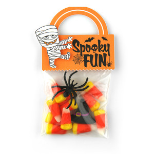 bag topper halloween mummy