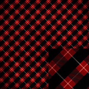 christmas red buffalo check background paper