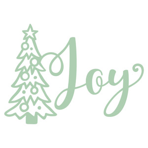 joy christmas tree