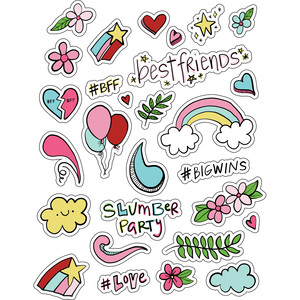 ml best friends stickers