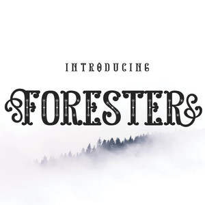 forester font