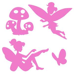 fairy shadow puppet set