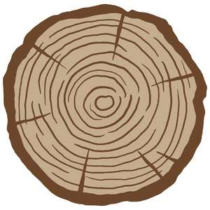 simple wood slice