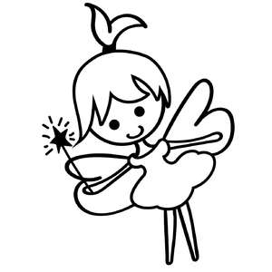 cute fairy design