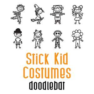 stick kid costumes doodlebat