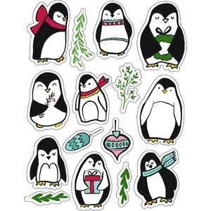 ml penguins love stickers