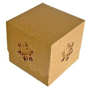scallop box with snowflake