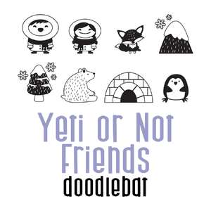 yeti or not - friends doodlebat