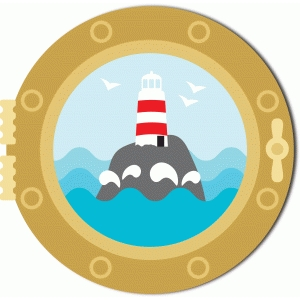 porthole, lighthouse