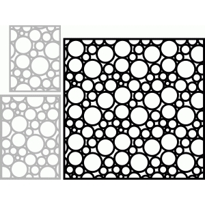 silhouette design store view design 49379 circle pattern overlay