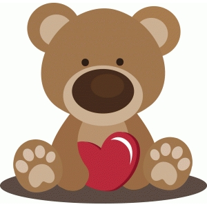 beary special valentine bear