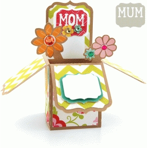 a2 box card: mother's day