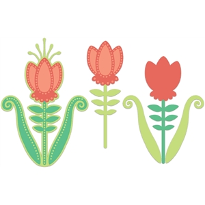 decorative tulip set
