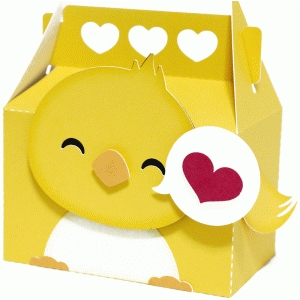 cute love bird box