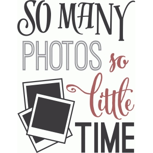 so many photos - so little time