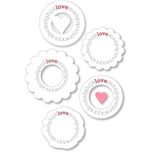 alphabet 'love' shapes (white)