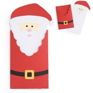 santa gift card envelope