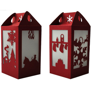 night before christmas lantern