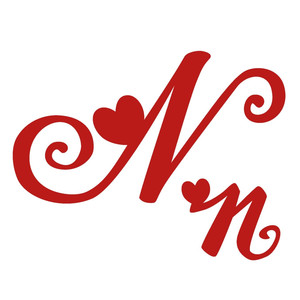 n romantic monogram