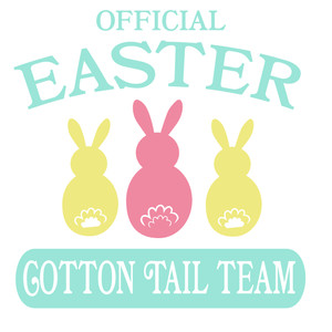 official easter cotton tail team