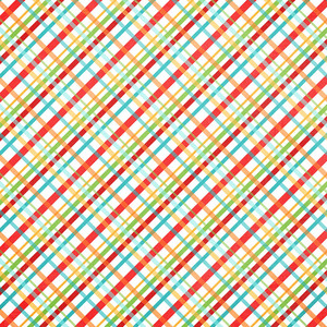 summer plaid paper